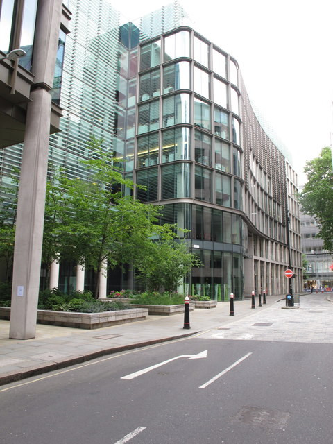 One Wood Street to show roof garden location