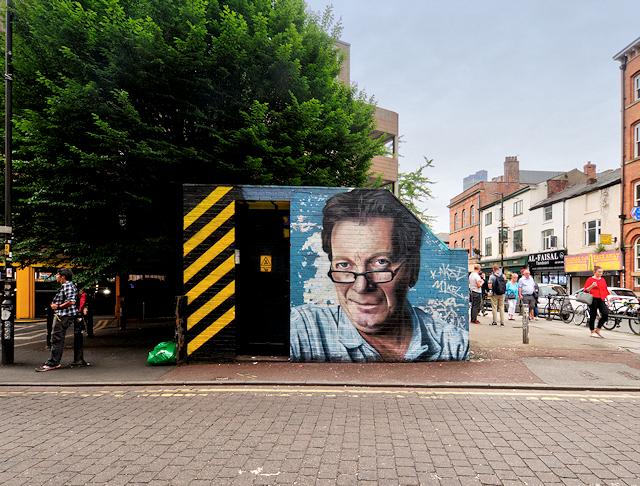 Mr Manchester on Tib Street