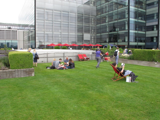 Roof garden, Nomura, Angel Lane, City of London