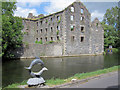 S7061 : Old Mill and Stone Salmon by kevin higgins