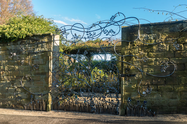 The Singing Gate, The Alnwick Garden