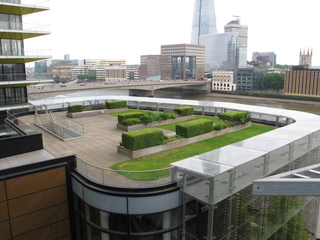 South-east roof garden, Nomura, Angel Lane