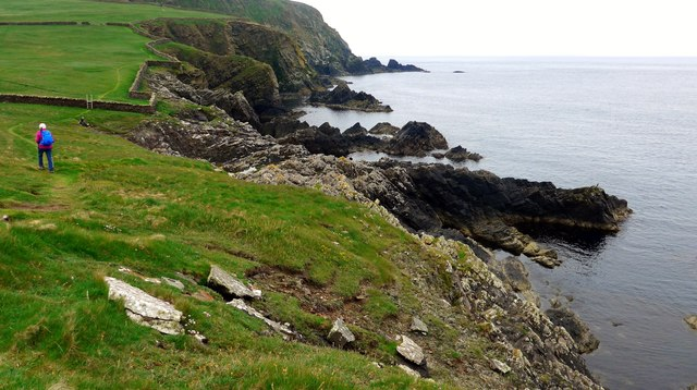 The coastal path to Sumburgh Head