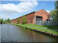 SO9790 : Canalside premises, Barnshaw Section Benders Ltd by Christine Johnstone