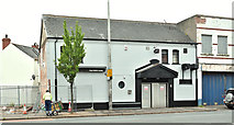 "J3673 : ""Blades"" social club, Belfast (June 2018) by Albert Bridge"