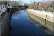 TQ3686 : Lee Valley Flood Relief Channel by N Chadwick