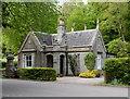 NJ8416 : Fintray west lodge by Bill Harrison