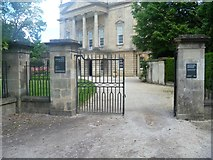 ST7565 : Entrance gateway to the Holburne Museum by Michael Dibb