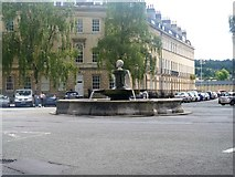 ST7565 : Fountain in Laura Place by Michael Dibb