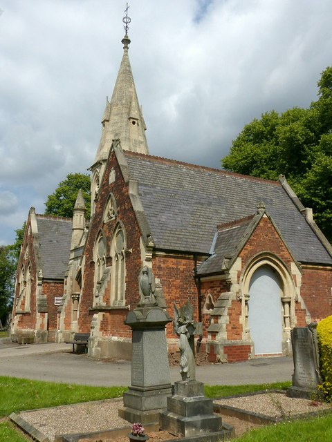 Stapleford Cemetery chapels