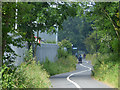 SD4563 : Chicanes in the cycle track west of the Heysham bypass by Stephen Craven