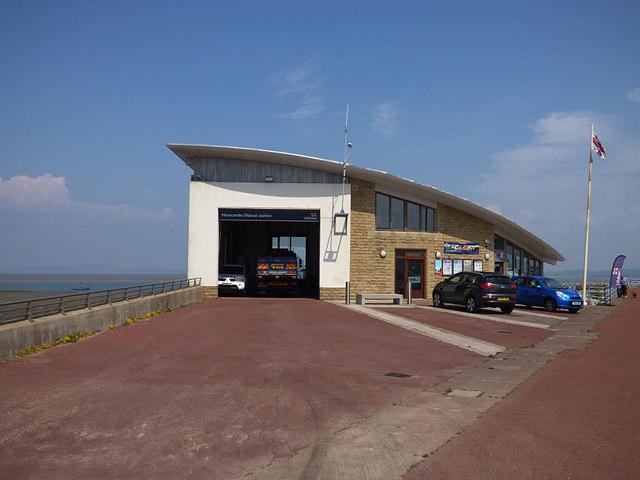Morecambe hovercraft station