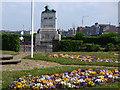 SD4364 : Morecambe war memorial by Stephen Craven