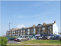 SD4364 : Shops, Marine Road Central, Morecambe   by Stephen Craven