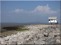 SD4364 : Watchtower,  Morecambe  promenade (1) by Stephen Craven