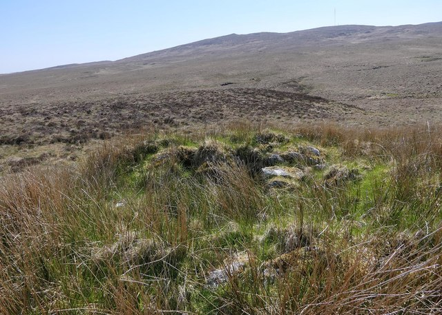Shieling hut footings, Gillebish, Isle of Lewis
