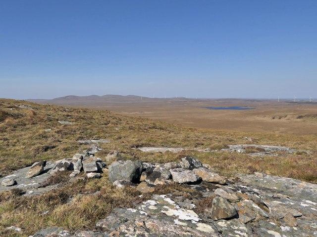 Remains of cairn, Beinn nan Surrag, Isle of Lewis