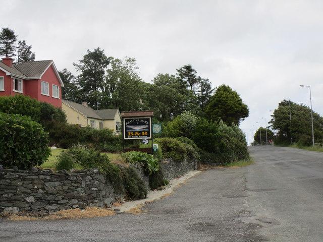 R572 leaving Castletownbere