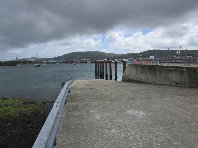 Slipway for Bere Island ferry