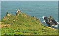 SX7236 : Rocks, Starehole Bay by Derek Harper