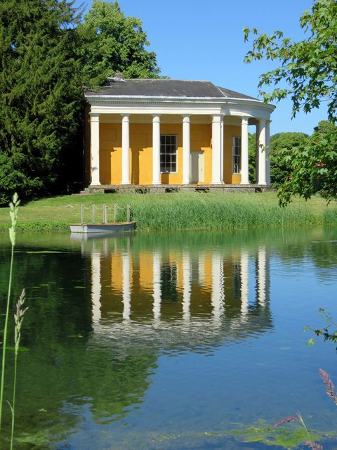 The Music Temple in West Wycombe Park