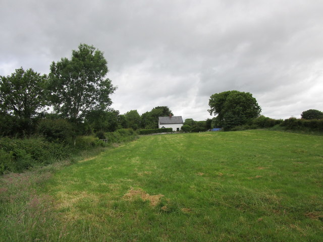 Cottage by the crossroads near Kilmurry