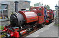 SH5900 : Tywyn Pendre Station - Numbers 1 & 2 by Chris Allen