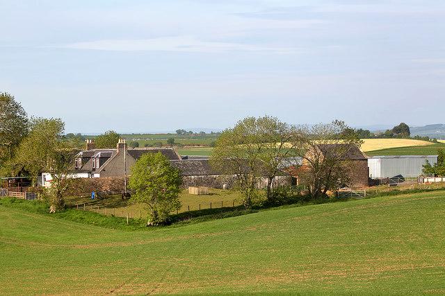 Auchenblane Farm near Kirkoswald