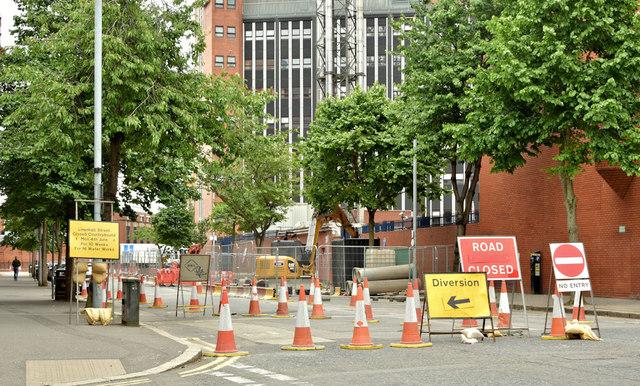 Sewer improvements, Belfast - June 2018(3)