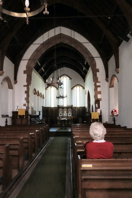 Interior of St. Peter's Church, Martindale
