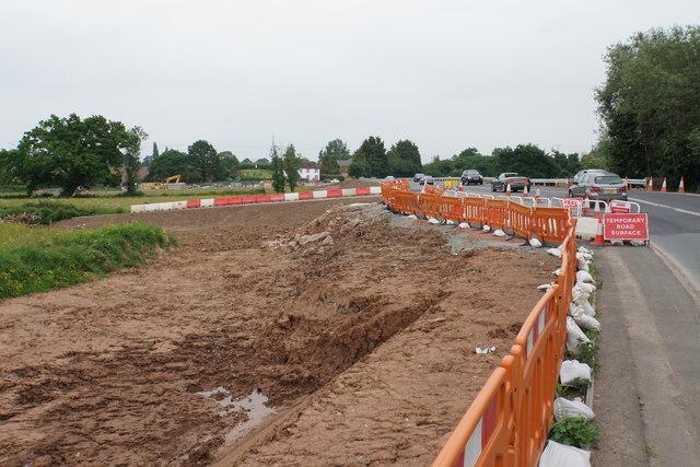 Flood alleviation scheme at Upton-upon-Severn