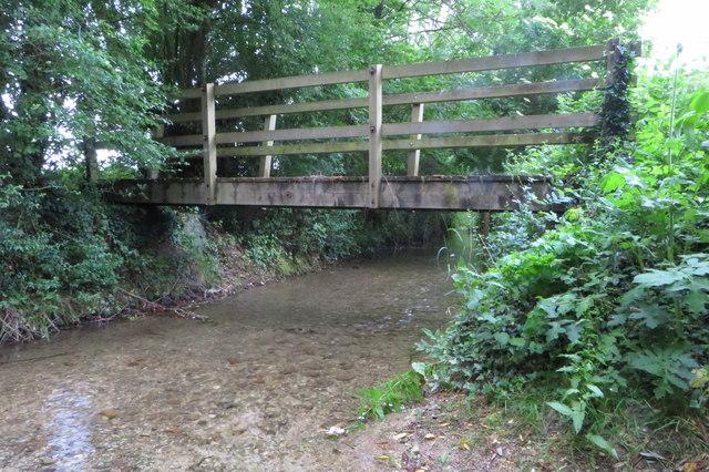 Footbridge at Hardwick Ford