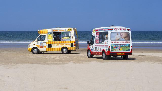 Ice cream vans, Benone