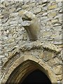 SO8729 : Deerhurst - St Mary's church - Anglo-Saxon monster head by Rob Farrow