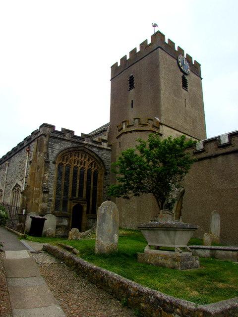 Grade I listed Parish Church of St Michael the Archangel, Lyme Regis