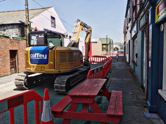 Pedestrianisation, Castletown-Bearhaven
