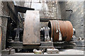 SJ6799 : Leigh spinners No. 2 engine house - alternator by Chris Allen