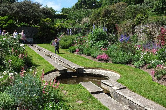 Rill garden, Coleton Fishacre
