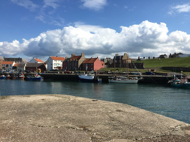 A View Looking Across Victoria Harbour Dunbar