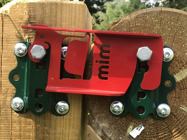 MIM clip on cross-country fence