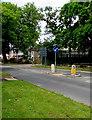 SO9622 : Pedestrian refuge, Priors Road, Cheltenham by Jaggery