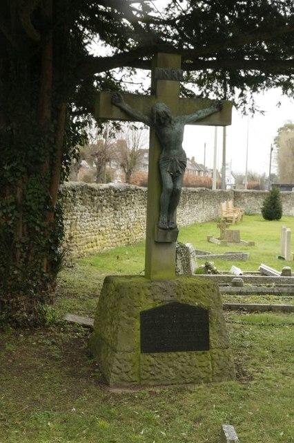 Crucifix in the cemetery