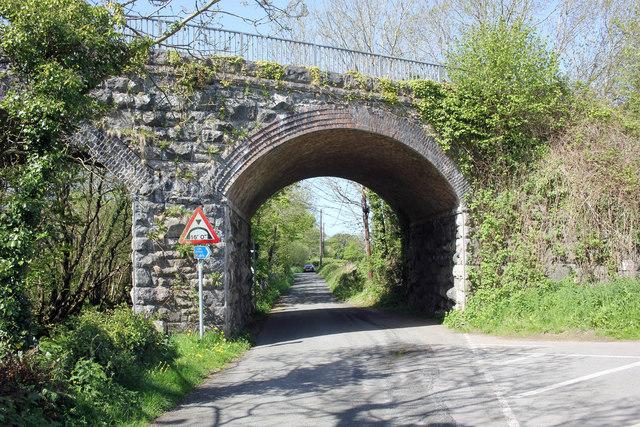 Railway Bridge near Bontnewydd