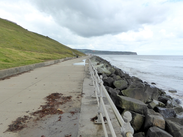 Sea defences at Whitby Sands