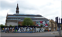 NS5964 : The Clutha Bar and the Briggait building by Thomas Nugent