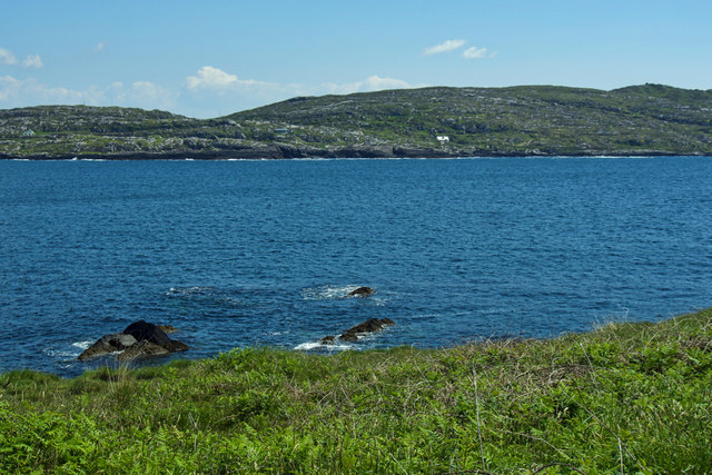 Darrynane Bay from Abbey Island