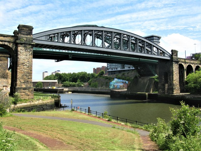 Monkwearmouth Railway Bridge