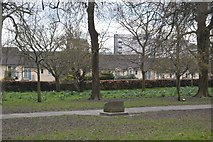 SX4854 : Memorial, Beaumont Park by N Chadwick