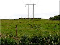 H5672 : Powerlines, Mullaghslin Glebe by Kenneth  Allen