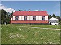 NN7299 : Leanach Mission Church, Highland Folk Museum by Craig Wallace